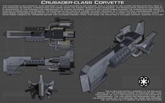 Crusader-class Corvette ortho [New] by unusualsuspex on DeviantArt