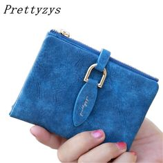 Cheap coin card holder, Buy Quality female purse directly from China fashion women wallets Suppliers: Prettyzys Lady Snap Fastener Short Clutch Wallet Vintage Matte Women Wallet Fashion Small Female Purse short Coin Card Holder Clutch Wallet, Leather Wallet, Bags Travel, Lady, Coin Card, Purse Styles, Cute Purses, Small Purses, Womens Purses