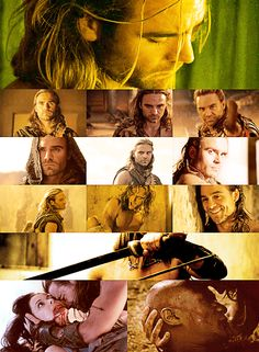 """TEN DAY SPARTACUS CHALLENGE """" Day 1: favorite male character (III/III) » Gannicus """""""