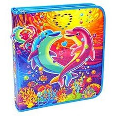 2-in-1: Lisa Frank designs and TRAPPER KEEPERS!  Haha both are so embarassing now, but were so cool back then