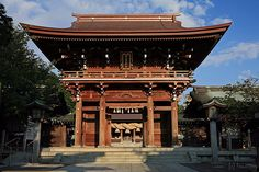 Miyajidake shrine Fukutsu city Fukuoka Japan