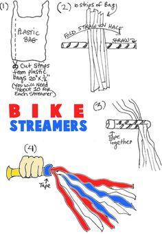 1-1 Het volk vraagt om een koning. Werkje waarmee je de handvaten van je fiets kunt versieren, bv voor koningsdag.