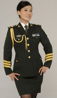 Military Inspired Fashion, Hot Cops, Military Girl, Girls Uniforms, Female Soldier, Military Women, Korean Beauty, Amazing Women, Ties