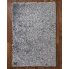 Natural Area Rugs Orlando Hand-Tufted Gray Area Rug Rug Size: 8' x 10'