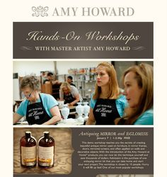 Another previous workshop we had!