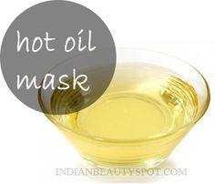 Hot Oil Mask – Radiant Skin - beauty DIY