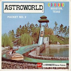 Great Memories, Childhood Memories, Astroworld Houston, Houston Architecture, View Master, Old Cartoons, Vintage Pictures, Wonders Of The World, Disneyland