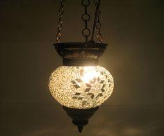 mosaic lamp / mosaik lampe / Moroccan lantern / hanging lights / chandelier h121 #Handmade #Moroccan