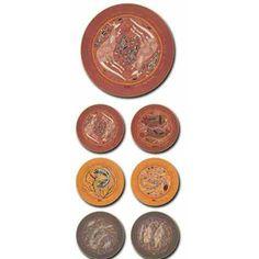 Aboriginal Design Yijan and Jijaka Souvenir Range Oenpelli round placemats and coasters, set of 6