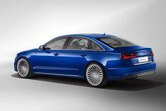 New Review 2015 Audi A6 L E-Tron Release Rear Side View Model