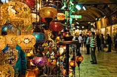 I went to Istanbul in Dec 2011 and the Grand Bazaar was one of my favorite places...the colors, sights, sounds... I wish I could go back