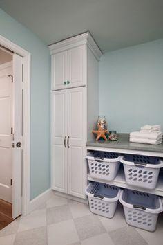 Gorgeous neutral laundry room love the black door and craftsman plenty of storage transitional laundry room philadelphia custom craft contractors inc solutioingenieria Choice Image