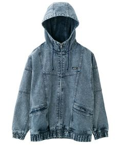 「【WEB限定】DENIM BIG BLOUSON」