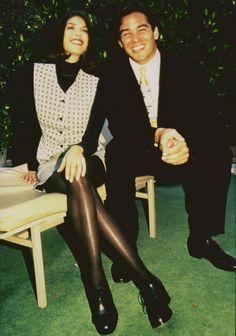 Teri Hatcher and Dean Cain