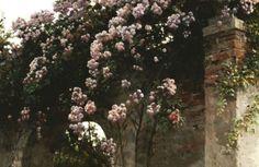 On the Balcony [detail]   Eugene de Blaas