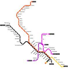 Mappa del tracciato
