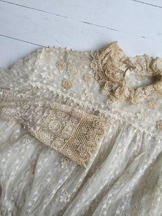 Evangeline blouse Edwardian lace blouse antique by DearGolden