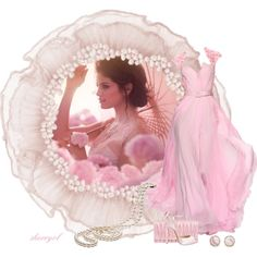 """The Pink Dress"" by sherryvl on Polyvore"