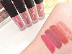 Huda Beauty The Pink Edition Liquid Matte Minis - Gossip Gurl / Trophy Wife / Icon / Socialite