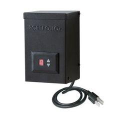 Portfolio 60-Watt 12-Volt Multi-Tap Landscape Lighting Transformer With Digital Timer With Dusk-To-Dawn Sensor 820108037
