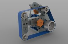 2x36 belt grinder work in progress .... - Rhino - 3D CAD model - GrabCAD