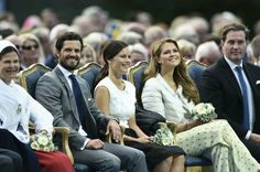 The Royal Family Celebrate Victoria's 38th Birthday With A Concert In Borgholm.