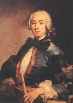 Johann Joachim Quantz (1697-1773) served Friedrich II. (Frederick the Great) as a music teacher and court composer. German flute Baroque classical
