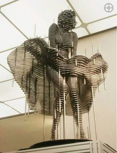 Changirl Park - Korean Artist - Sliced Metal Sculptures