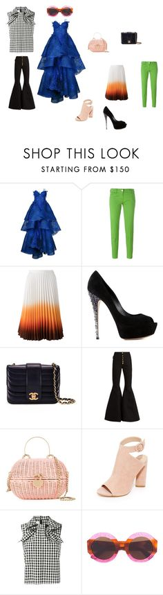 """""""Fashion club"""" by emmamegan-5678 ❤ liked on Polyvore featuring Nedret Taciroglu Couture, Jacob Cohёn, J.W. Anderson, Casadei, Chanel, E L L E R Y, Kendall + Kylie, Marques'Almeida, Gucci and vintage"""