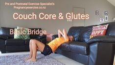 Couch Core and Glutes Fit mum core and glute exercises you can do at home using your couch suitable options for pregnancy, postnatal and advanced. All the exercises are safe and will improve core, glute and pelvic floor muscle function and strength. Post Baby Workout, Post Pregnancy Workout, Prenatal Workout, Mommy Workout, Fitness Workout For Women, Pregnancy Health, Pregnancy Videos, Pregnancy Memes, After Pregnancy