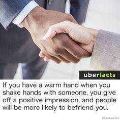 #UberFacts #People #Handshake