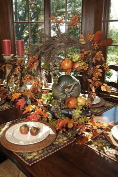 Great fall centerpiece...