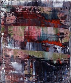 Gerhard Richter, my favorite artist Contemporary Abstract Art, Modern Art, New European Painting, Gerhard Richter Painting, Abstract Painters, Action Painting, Art Plastique, Abstract Expressionism, New Art