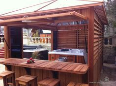 Hot Tub Spa Enclosure Patio Gazebo Tubs