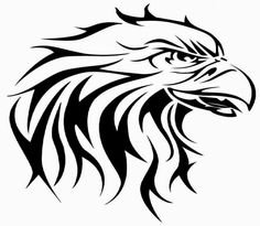 Eagle tattoo stencils