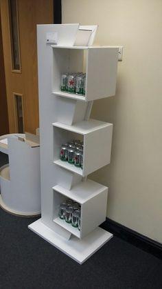 Puntos de venta Wood Display Stand, Pos Display, Store Displays, Display Design, Booth Design, Display Shelves, Pos Design, Rack Design, Stand Design