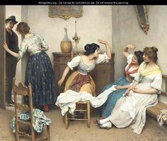 The New Suitor 2 - Eugene de Blaas