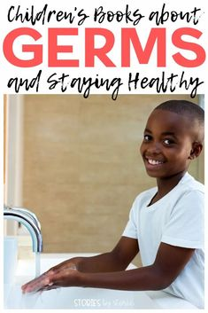We know that germs are everywhere. Right now, kids have a lot of questions about germs and how viruses spread. Here are some children's books about germs and staying healthy. These books might just help your kids develop some healthy hygiene habits that help stop the spread of germs. Teaching Strategies, Teaching Tips, Best Books To Read, Good Books, Primary Classroom, Classroom Ideas, What Are Germs, Growth Mindset Book, Pre-school Books