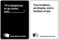 Cards Against Humanity Supernatural Edition --- I'll take that