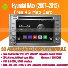 Android Car DVD Player GPS Navigation for Hyundai iMax 2007-2012 Radio Wifi 3G Bluetooth TV   Sale: $324.23  http://www.happyshoppinglife.com/android-car-dvd-player-gps-navigation-for-hyundai-imax-20072012-radio-wifi-3g-bluetooth-tv-p-2332.html