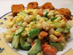 Baby Food Recipes, Food Network Recipes, Healthy Recipes, Healthy Food, The Kitchen Food Network, Salad Bar, Omelette, Rustic Kitchen, Pasta Salad