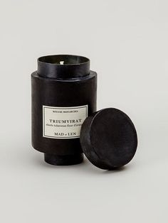 Shop Mad Et Len 'Triumvarat' scented candle in L'Eclaireur from the world's best independent boutiques at farfetch.com. Over 1000 designers from 300 boutiques in one website.