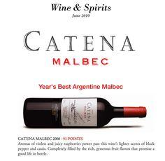 2008 Catena Malbec