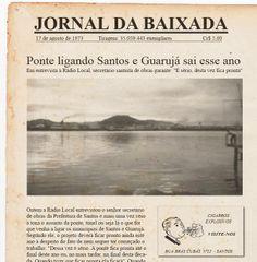 17 de agosto de 1973 - Jornal da Baixada.