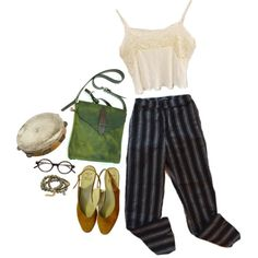 #509 by egaal on Polyvore featuring American Apparel, Dee Berkley and Slow and Steady Wins the Race