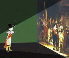 Rembrandt, Master of chiaroscuro