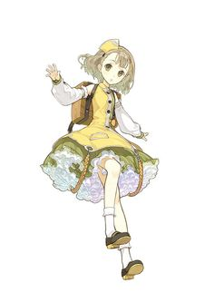 Spiele Filme Musik Anime: Atelier Escha & Logy - New Willbell and Lucille Screen . Game Character Design, Character Design References, Character Design Inspiration, Character Concept, Character Art, Concept Art, Manga Art, Manga Anime, Atelier Series