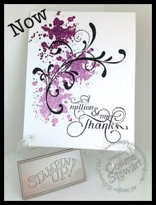 Now or WOW! by Connie Stewart - www.SimplySimpleStamping.com