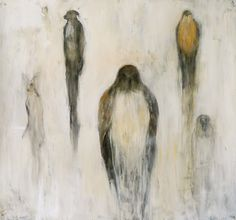 Jane Rosen - 2012- Hawk and Budhi -Drawings - New Works