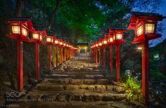 Kibune Shrine - Pinned by Mak Khalaf Kyoto Japan Travel  by Yu_Kodama